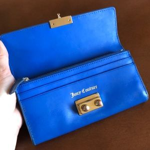 ⚡️💙 Electric Blue Juicy Couture Wallet